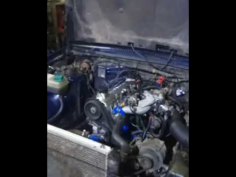 Первый запуск двигателя VOLVO 940 B230fb