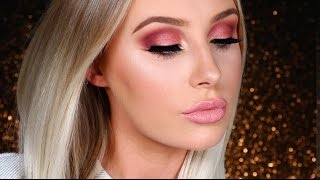 getlinkyoutube.com-ROSE GOLD SMOKEY EYE / First Impressions | Lauren Curtis