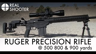 getlinkyoutube.com-Ruger Precision Rifle @ 500, 800 & 900 Yards with Target Camera