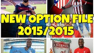 getlinkyoutube.com-NEW OPTION FILE 2015/2016 (FICHAJES Y EQUIPOS ASCENDIDOS) | PES 2013