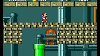 getlinkyoutube.com-Super Mario Bros. 2 Sega Genesis (SMB1 port)