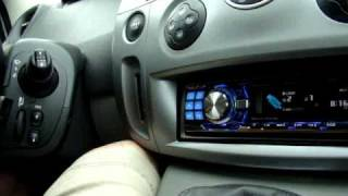 Renault Scenic + Alpine Radio factory steering wheel and display working