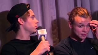 5SOS talking about DOGE SOS with Smallzy