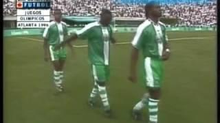 1996 Olympics Nigeria vs Argentina