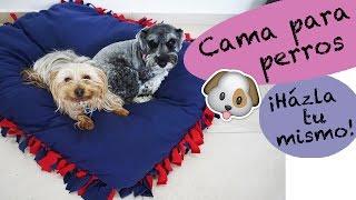 getlinkyoutube.com-Cama para Perros SIN COSTURAS ¡Házla tu mismo!
