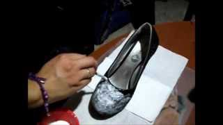 getlinkyoutube.com-TRANSFORMA TUS ZAPATOS VIEJOS