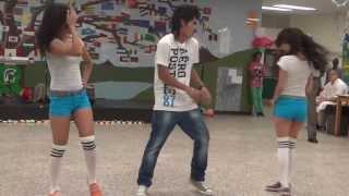 getlinkyoutube.com-Ottawa's Bhutanese-Nepali guys dancing in School , Hindi songs