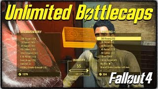 getlinkyoutube.com-Fallout 4 Ultimate Money Guide! Easy Ways to Get Bottlecaps + Unlimited Money Glitch! (FO4)
