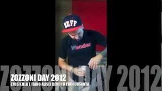 "getlinkyoutube.com-EMIS KILLA e FABIO ALISEI BEVONO ""L'ACQUASANTA"" (70 GRADI!!!) - Zozzoni Day 2012"