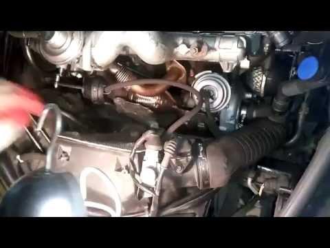 Проблемы с турбиной 2, VW Passat B5 1 9TDI 85KW, установка турбины, ремонт поддона.