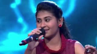 getlinkyoutube.com-Nithyashree Indian Idol Junior chalka chalka 18th july 15