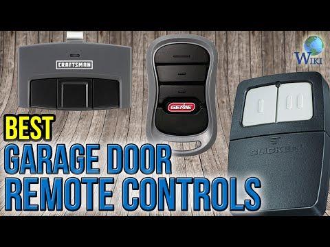 6 Best Garage Door Remote Controls 2017