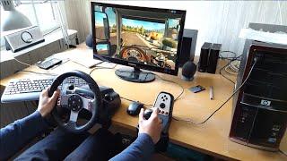 getlinkyoutube.com-Euro Truck Simulator 2 - Scandinavia DLC - Logitech G27