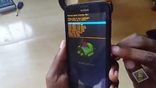 getlinkyoutube.com-Huawei Ascend Y600 Hard Reset:Boot loop,stuck on boot,Wrong Password Fix