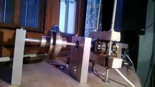 getlinkyoutube.com-Energie libre - réplique amateur de N machine et observation