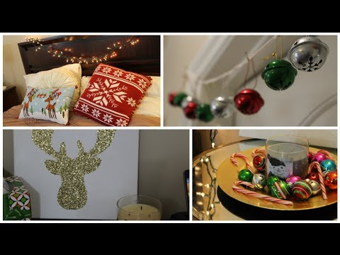 DIY Holiday Room Decorations!