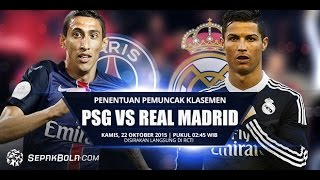 getlinkyoutube.com-Real Madrid vs Paris Saint-Germain. Champions League All GOALS and Highlights Full Match 3/11/2015