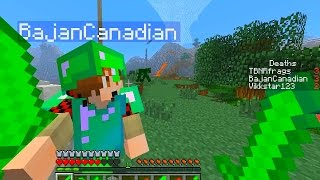 getlinkyoutube.com-Minecraft MODDED BATTLE ARENA #8 'EMERALD MOD' with Vikkstar, BajanCanadian & PrestonPlayz