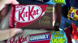 getlinkyoutube.com-British Chocolate Candy & Snack Haul! Can't find in the U.S.A!