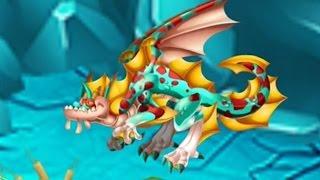 getlinkyoutube.com-Dragon City: Christmas - Krait dragon