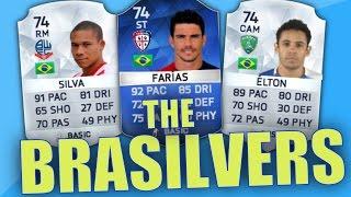 getlinkyoutube.com-THE BRASILVERS! SILVER BRAZILIAN SQUAD FEAT. TOTS FARIAS, W.SILVA & ELTON! | FIFA 16 SQUAD BUILDER