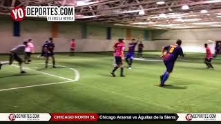 Chicago Arsenal vs Águilas de la Sierra Chicago North Soccer League