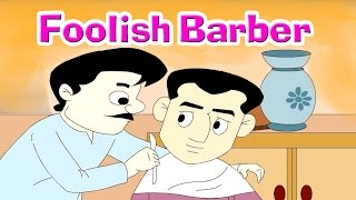 A Foolish Barber - Panchatantra Tales In English   Stories For Kids In English   Kids Story