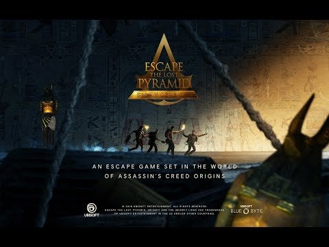 Escape the Lost Pyramid... Set in the world of Assassin's Creed Origins!