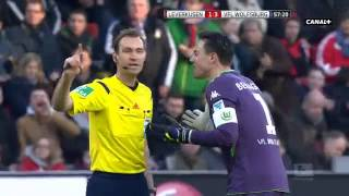 getlinkyoutube.com-Bayer Leverkusen vs VfL Wolfsburg 4:5 [14 02 2015]