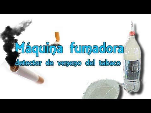Máquina fumadora - Comprueba el veneno que hay en un cigarrillo (Experimentos Caseros)