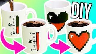 getlinkyoutube.com-DIY COLOR CHANGING MUGS! Make magic mugs for gifts!