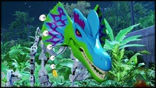 getlinkyoutube.com-LEGO Jurassic World - Platinum Dino! CUSTOM DINOSAURS!