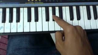 getlinkyoutube.com-tum hi ho piano slow tutioral by dikshit shrimal