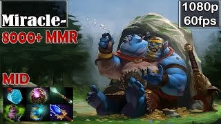 getlinkyoutube.com-Miracle- (9000+ MMR) - Ogre Magi MID | Dota 2 Pro MMR Gameplay