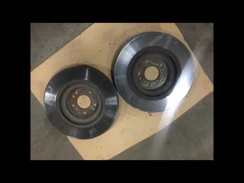 Где передние тормозные диски у Mercedes-Benz V