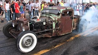 getlinkyoutube.com-WILD Burnouts On The STREET - Shapiro Steelfest