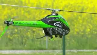 getlinkyoutube.com-Testflug GOBLIN 380 SAB HELI DIVISION GERMANY grün