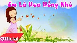 getlinkyoutube.com-[Karaoke HD] Em Là Hoa Hồng Nhỏ - Nhạc Thiếu Nhi