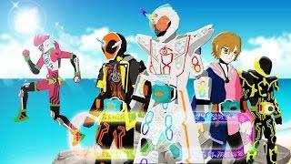 getlinkyoutube.com-Pivot Kamen Rider Ghost: Mugen and Greateful Henshin and Finisher【Ex-Aid cameo】【仮面ライダーゴースト】HD