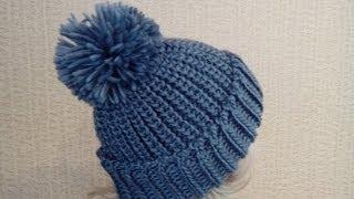 getlinkyoutube.com-Модные женские вязаные шапки.