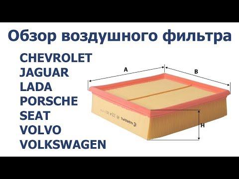 Обзор ВОЗДУШНОГО ФИЛЬТРА AUDI CHEVROLET JAGUAR LADA PORSCHE SEAT VOLVO VOLKSWAGEN NORDFIL AN1014