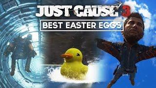 getlinkyoutube.com-Just Cause 3 - BEST Easter Eggs So Far! (JC3 Big Head, Thor & Doge Mode Easter Eggs)