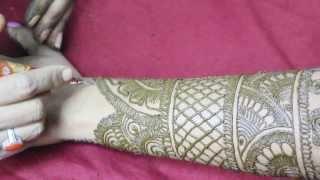 getlinkyoutube.com-Mehandi Design Back Hand Video 23 - ILoveMehandi.TV