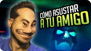 getlinkyoutube.com-FORMAS DE ASUSTAR A UN AMIGO - HIDE AND SHRIEK