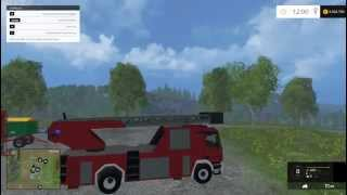 getlinkyoutube.com-Farming Simulator 2015 Fire Truck Mod
