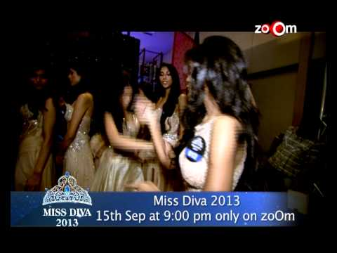 Miss Diva 2013 : Gauhar Khan's Dance Performance
