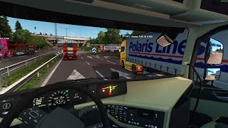 getlinkyoutube.com-Euro Truck Simulator 2 Multiplayer   Scandinavia DLC   Fatih Kaptan #2  