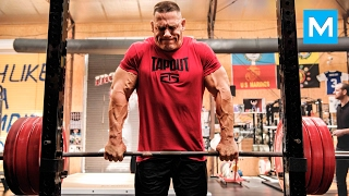 getlinkyoutube.com-John Cena Strength Workout for WWE | Muscle Madness