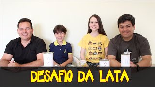 getlinkyoutube.com-Desafio da Lata: Família Silva X Família Carvalho Julia Silva