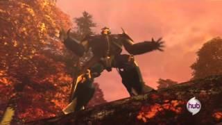 getlinkyoutube.com-Transformers Prime Dreadwing vs bulkhead